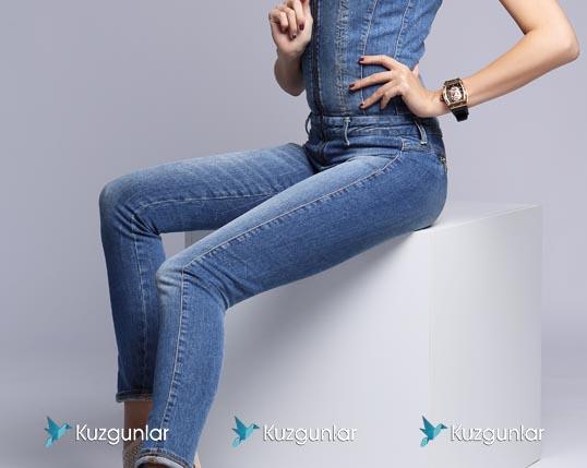 Denim jeans in Turkey